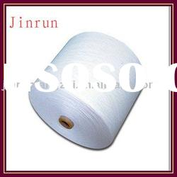 100 polyester spun yarn 45/1 (raw white)