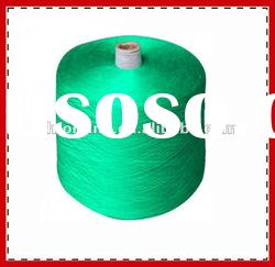 100% ring spun poly dyed colour yarn for knitting NE 50/1