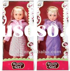 18 inch plastic real looking beauty girl baby dolls