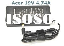 19V 4.74 AC laptop adapter 5.5*2.5mm for acer notebook
