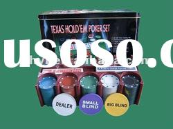 200pcs poker chip set|ABS poker chip set|casino chip set