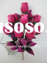 2011 Hot Decorative Artificial Flower, Artificial Rose Flower