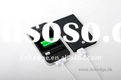 2011 newest 2500mAh universal backup battery charger for iphone/ipod and all mobile phones