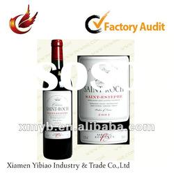 2012 China promotional adhesive wine label paper