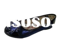 2012 fashion ladies flat shoes, flat shoes,ballerina shoes
