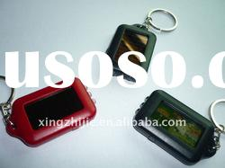 2012 hot selling promotional solar led key chain advertisement product