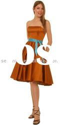 2012 new style fashion Knee length ladies' Party Dresses