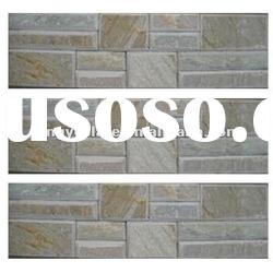 2012 yellow classical slate culture stone for wall tile - China