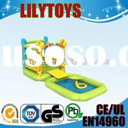 2012hot-selling water slide for kids/inflatable slide toys/inflatable games
