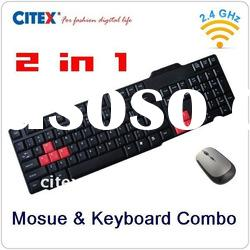 2.4GHz wireless keyboard mouse combo