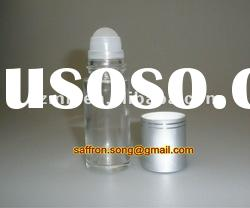 30ml Clear/Frosted Roll on glass bottle with cap