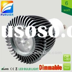 40W/50W halogen replacement, dimmable 6w high power gu10 led spot light