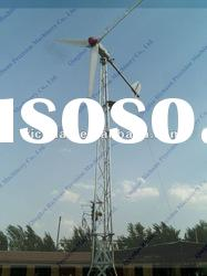 5KW Horizontal Axis permanent magnet Wind Turbine for sale solar energy generator