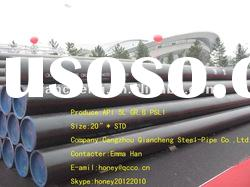 API 5L X42 PSL1 Seamless Carbon Steel Pipe from QCCO