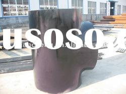 ASTM A234 WPB Seamless Carbon Steel Reducing Tee from QCCO