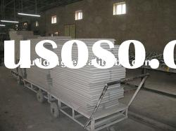Acoustic mineral wool fiber ceiling tiles (CE ISO)