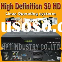 Best selling New product High speed satellite receiver openbox s9 used for Australia
