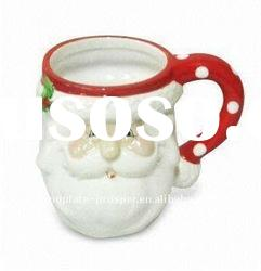 Bulk christmas mugs cups with santa design