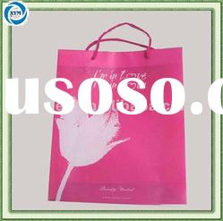 Cheap fashion plastic pp shopping bag