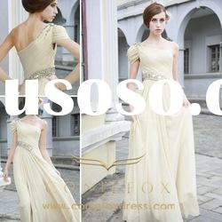 Coniefox New arrival One shoulder Formal Wedding Dresses 80508