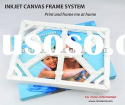 DIY Canavs Photo Plastic Frame (adhesive tape, photo printing on waterproof canvas)