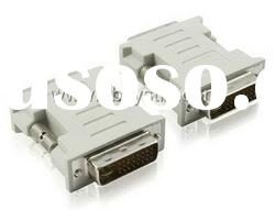 DVI (24+1) male to DVI (24+1) male adapter