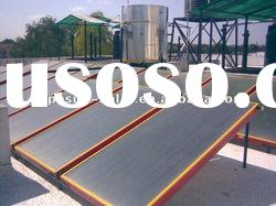 Durable Anode Oxidation coating Pressurized Flat Solar Water Heater