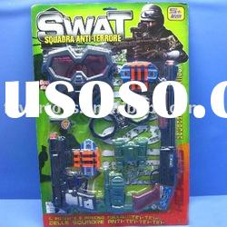 Exquiste police set small plastic gun toys