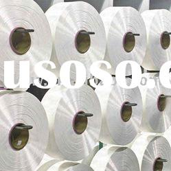 FDY polyester yarn 450D/96F, Semi dull, Raw white