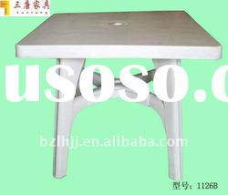 Fashion Design plastic outdoor table
