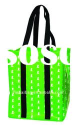 Fashion non woven tote bag with lamination