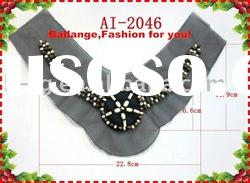 Garment accessories of fashion wood beads trims