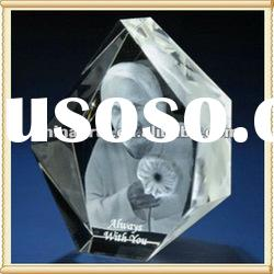 Grand 3D Photo Laser Engraving Crystal Cube