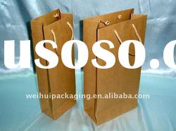 High quality Customized Recycled Kraft Paper Bag