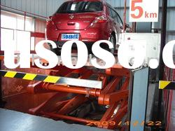 Hydraulic stationary scissor car lift table