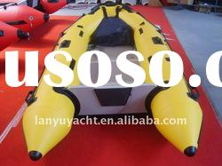 LY-330 aluminum floor boat/inflatable boat with CE