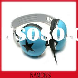Lightweight/blue/wired headset for two way radio