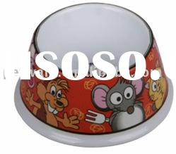 Melamine Pet Food Bowl for Small Dogs and Cats