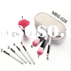 Mini Pouch Cosmetic Brush Set