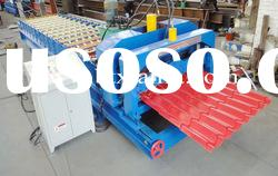 New type glazed tile metal sheet roll forming machine XF1020
