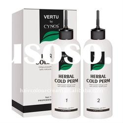Newly Herbal Hair Cold Perm Lotion