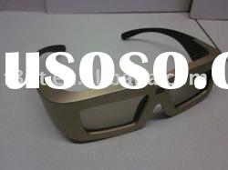 Nice looking 3D shutter glasses Plastic 3d glasses