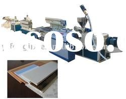 PVC ceiling board production line--plastic machinery