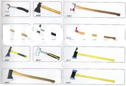 Pick AXE with wooden handle fiberglass handle plastic handle