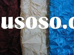 Polyester Crinkled fabric/ polyester fabric