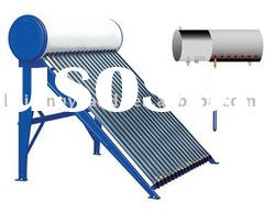 Pressurized solar water heater system
