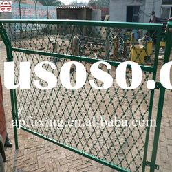 Protective Razor Barbed Wire Fence Netting