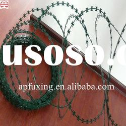 Razor Barbed Wire Mesh Fence Netting For Protection