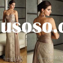 SC1561 Beautiful hot sell lace evening dress fashion 2012 by Terani couture