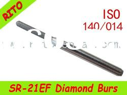 SR-21EF Round End Taper Diamond Burs,Good Quality Dental Diamond Burs - Rito Dental Quality Products